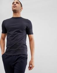 Reiss Crew Neck T-Shirt - Navy