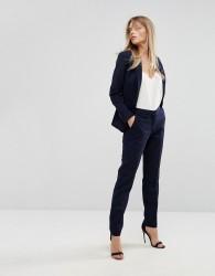 Reiss Tailored Plain Trouser - Navy