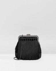 Reiss Tassle Bag - Black