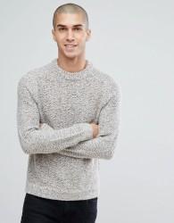 Reiss Twisted Yarn Knit - Grey