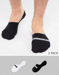 Religion 2 Pack Liner Socks - Multi