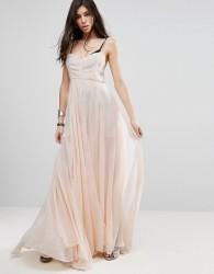 Religion Olsen Maxi Dress - Pink