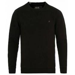 Replay Crew Neck Sweatshirt Black
