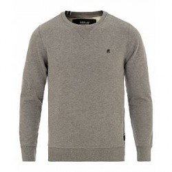 Replay Crew Neck Sweatshirt Grey