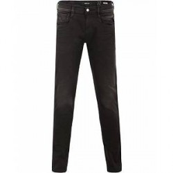 Replay M914 Anbass Hyperflex Jeans Black