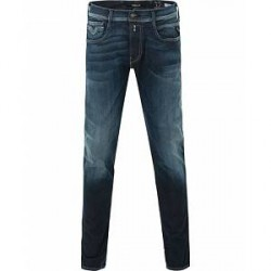Replay M914 Anbass Hyperflex Jeans Blue/Black