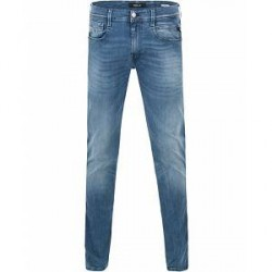 Replay M914 Anbass Hyperflex Jeans Light Blue