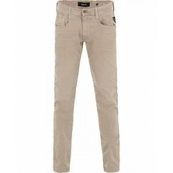 Replay M914D Anbass Washed Jeans Beige