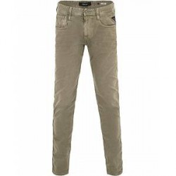 Replay M914D Anbass Washed Jeans Green