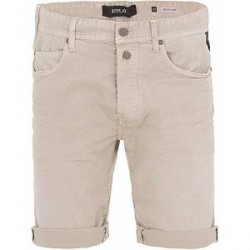 Replay MA981 Jeans Shorts Beige