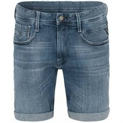 Replay MA996 Jeans Shorts Light Blue