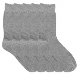 Resteröds 5-pak Bamboo Socks - Light grey * Kampagne *