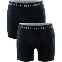 Resteröds Undertøj 2-pak Sorte Resteröds boksershorts/trunks model Sven 7961 49 909