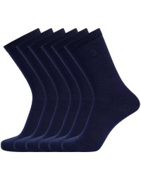 Resteröds Undertøj, JBS Undertøj Resteröds 3-Pak Bambus-sokker Blå 7255 80 49