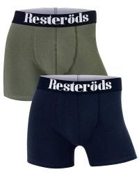 Resteröds Undertøj Resteröds 2-pak Blå og Grøn Tights (Lange ben) 7901 49 110
