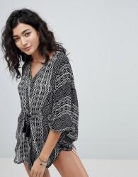 Rip Curl Black Sand Beach Kimono - Multi
