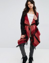Rip Curl Red/Grey Blanket Knit - Multi