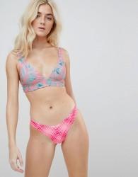 Rip Curl Reversible Last Light Mix And Match Cheeky Bikini Bottom - Multi