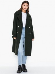 River Island DB Military Coat Frakker