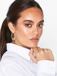River Island Easy Clean Small Oval Hoop Ørering Gold
