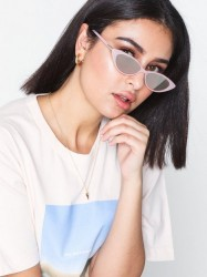 River Island Squishy Pink Plastic Sunglasses Solbriller