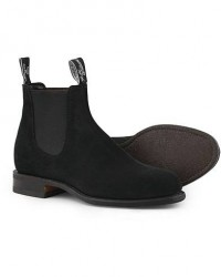 R.M.Williams Wentworth G Boot Black Suede men UK10,5 - EU45,5