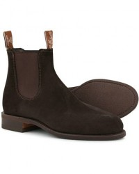 R.M.Williams Wentworth G Boot Chocolate Suede men UK10.5 - EU45,5 Brun