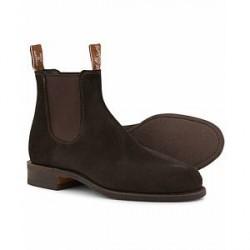 R.M.Williams Wentworth G Boot Suede Brown