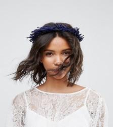 Rock N Rose Lavander Dried Flower Crown - Purple