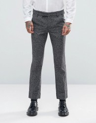Rogues of London Skinny Smart Trousers - Grey