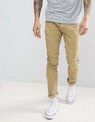 Rollas Cord Jeans In Camel - Brown