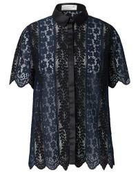 Rosemunde Shirt ss 5954 (MØRKEBLÅ, 40)