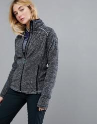 Roxy Harmony Full Zip Fleece In Black - Black