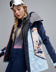 Roxy Pop Snow Wildlife Jacket - Multi