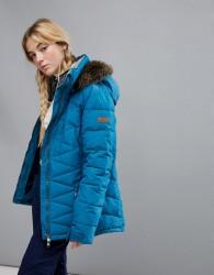 Roxy Quinn Jacket In Blue - Blue