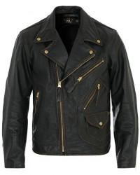 RRL Marshall Leather Jacket Vintage Black men M