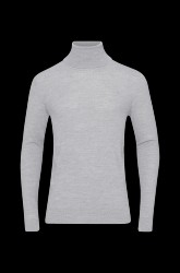Rullekravebluse Merino Knit Roll-neck