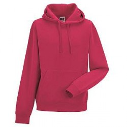 Russell Athletic Authentic Hooded Sweat - Pink - X-Small