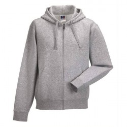 Russell Athletic Authentic Zipped Hood - Greymarl * Kampagne *