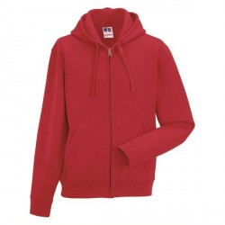 Russell Athletic Authentic Zipped Hood - Red * Kampagne *
