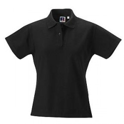Russell Athletic F 100% Cotton Durable Polo - Black - XX-Large * Kampagne *