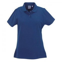 Russell Athletic F 100% Cotton Durable Polo - Blue * Kampagne *