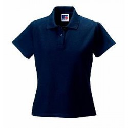 Russell Athletic F 100% Cotton Durable Polo - Darkblue - Large