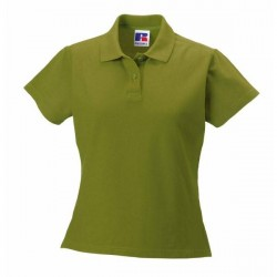 Russell Athletic F 100% Cotton Durable Polo - Green * Kampagne *