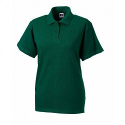 Russell Athletic F Classic Cotton Polo - Darkgreen * Kampagne *