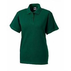 Russell Athletic F Classic Cotton Polo - Darkgreen - Small