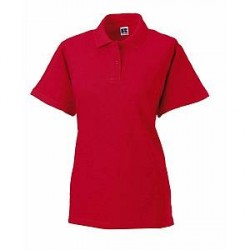 Russell Athletic F Classic Cotton Polo - Red * Kampagne *