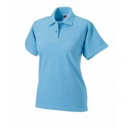 Russell Athletic F Classic Cotton Polo - Skyblue * Kampagne *