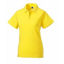 Russell Athletic F Classic Cotton Polo - Yellow - XX-Large