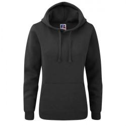 Russell Athletic Ladies Authentic Hooded Sweat - Black * Kampagne *